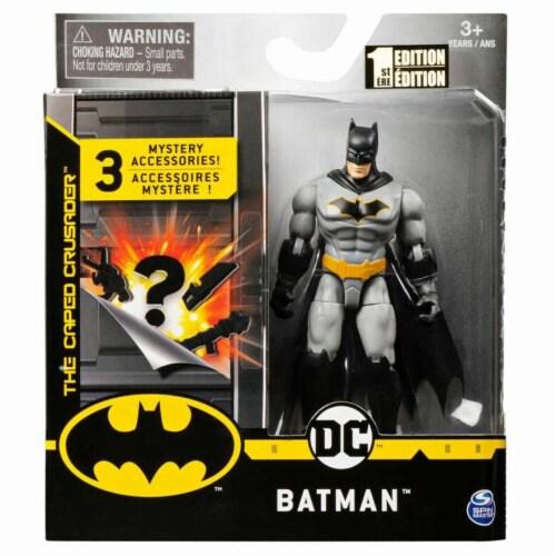 Batman 4 Inch BATMAN ACTION FIGURE w/Accessories Perspective: front