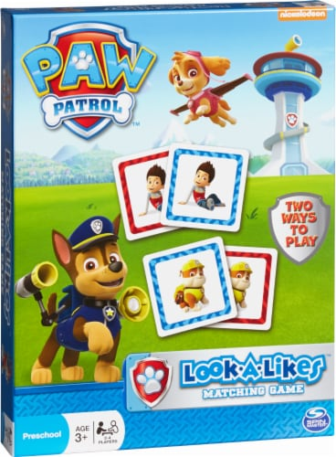 Fred Meyer - Spin Master Paw Patrol Look-a-Likes Matching Board Game
