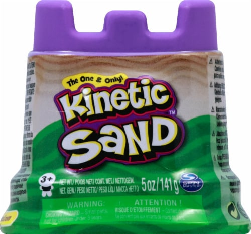 Spin Master Kinetic Sand Single Container - Blue Perspective: front
