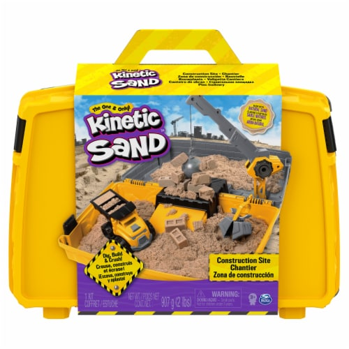 Kinetic Sand Construction Site Perspective: front