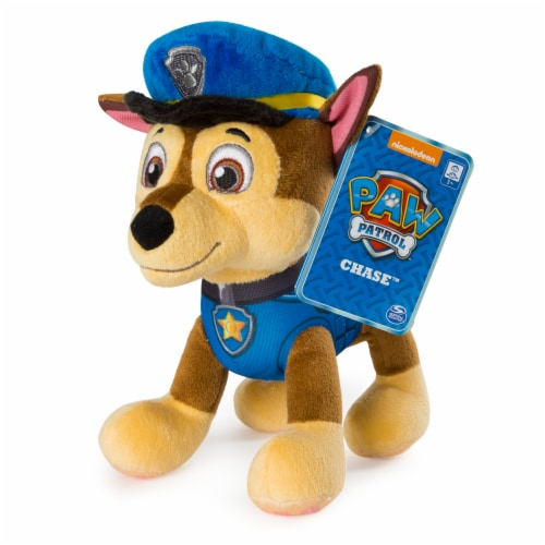 Spin Master Paw Patrol Chase Plush Toy Perspective: front
