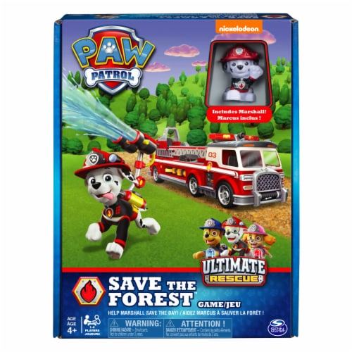 Spin Master Paw Patrol Fire Rescue Board Game Perspective: front