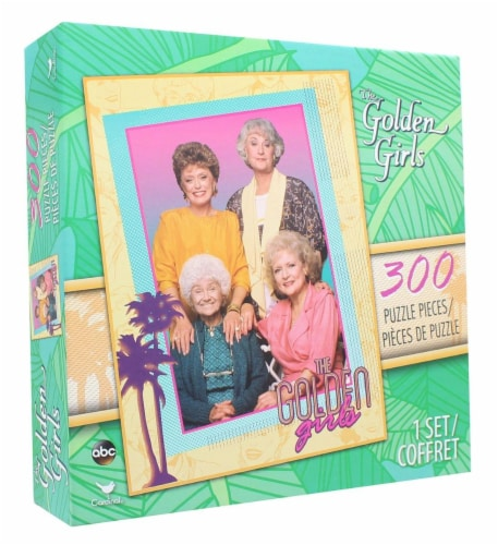 The Golden Girls 300-Piece Jigsaw Puzzle Perspective: front