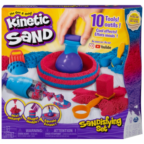 Spin Master Kinetic Sand Sandisfying Set Perspective: front