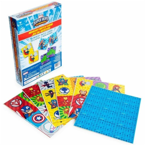 Marvel Super Hero Adventures Memory Match Game Perspective: front