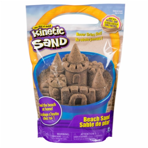 Kinetic Sand Beach Sand Perspective: front