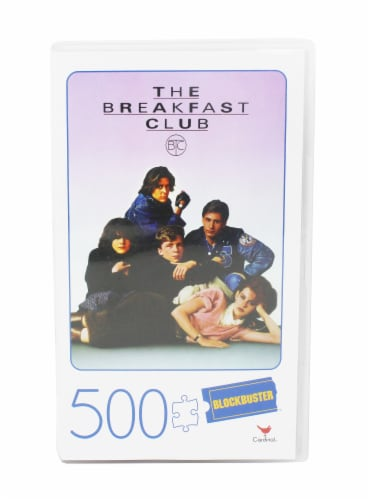 Cardinal® Blockbuster VHS The Breakfast Club Puzzle Perspective: front