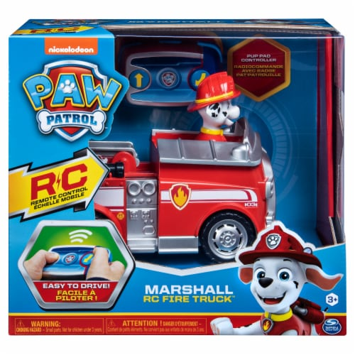 Nickelodeon Paw Patrol Marshall Remote Control Fire Truck Perspective: front