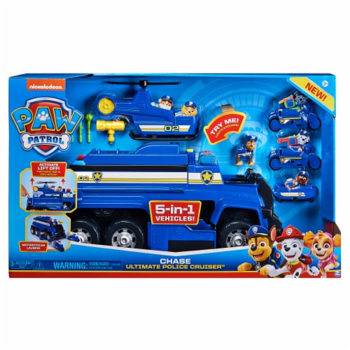 Paw Patrol Chase Ultimate Police Cruiser Perspective: front