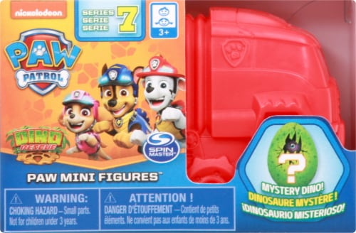 Paw Patrol Dino Rescue Collectible Blind Box Mini Figure and Mystery Dinosaur - Assorted Perspective: front