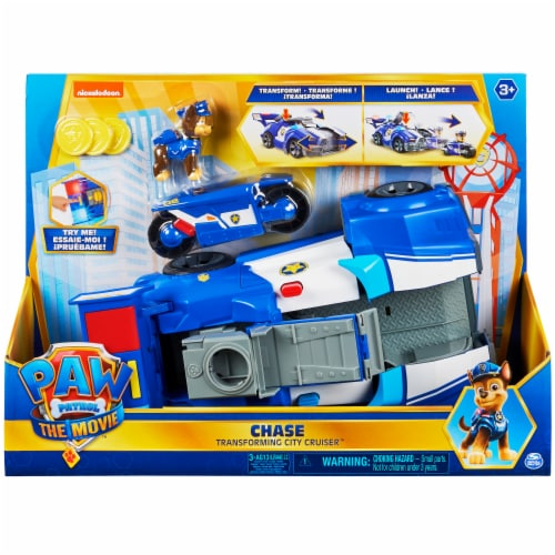 Paw Patrol Chase Vehicle Perspective: front