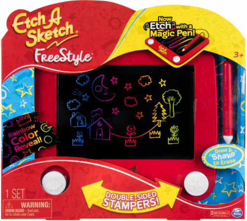 Spin Master Etch A Sketch Freestyle Drawing Pad - Red Perspective: front