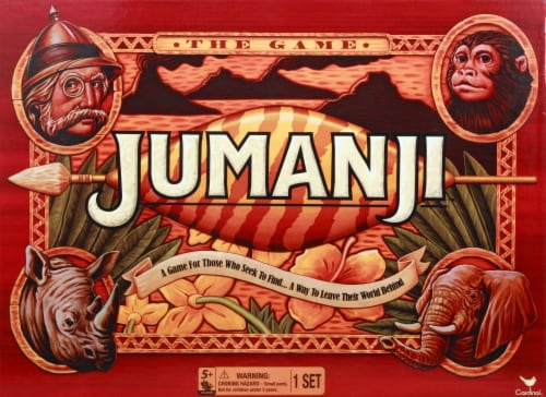 Cardinal Games Jumanji The Board Game Perspective: front