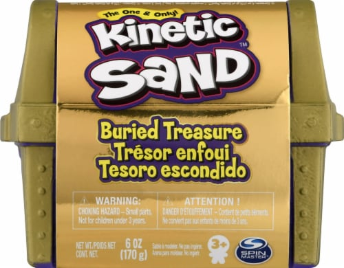 Spin Master Buried Treasure Kinetic Sand Perspective: front