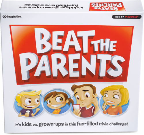 Spin Master Beat the Parents Board Game Perspective: front