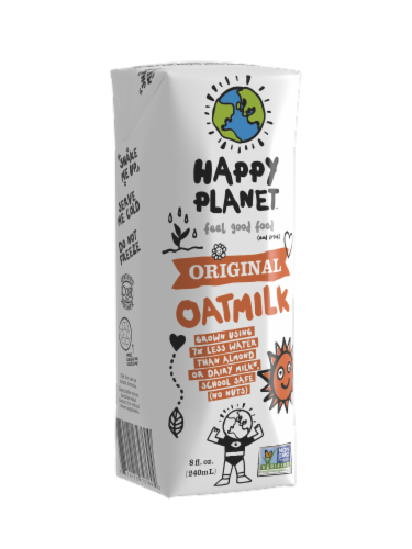 Happy Planet Original Oatmilk Perspective: front