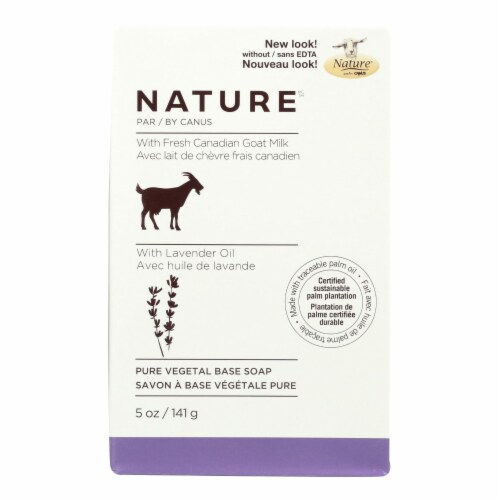 Nature By Canus Lavender Oil Pure Vegetal Base Soap Perspective: front