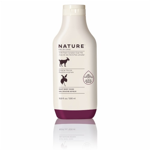 Nature By Canus Original Recipe Goat's Milk Silky Body Wash Perspective: front