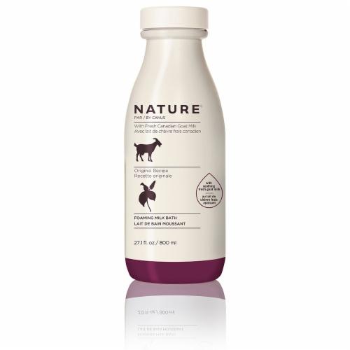 Nature By Canus Original Recipe Foaming Milk Bath Perspective: front