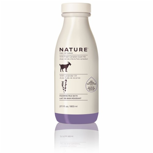 Nature By Canus Lavender Oil Foaming Milk Bath Perspective: front