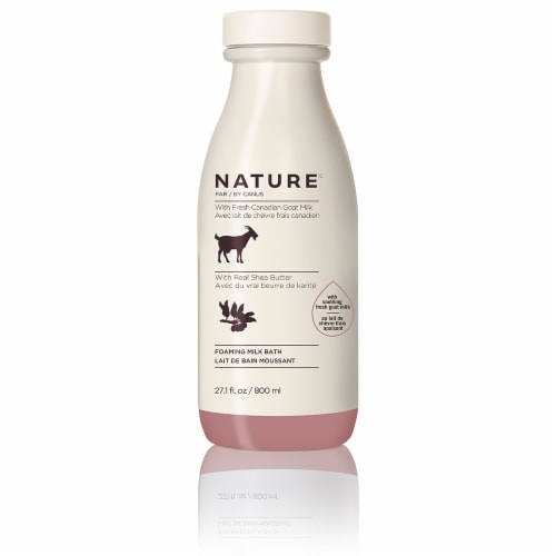 Nature By Canus Shea Butter Foaming Milk Bath Perspective: front