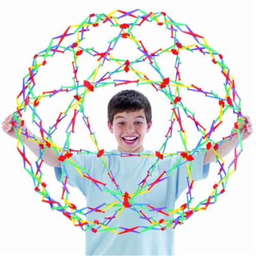 Hoberman Original Rainbow Sphere Perspective: front