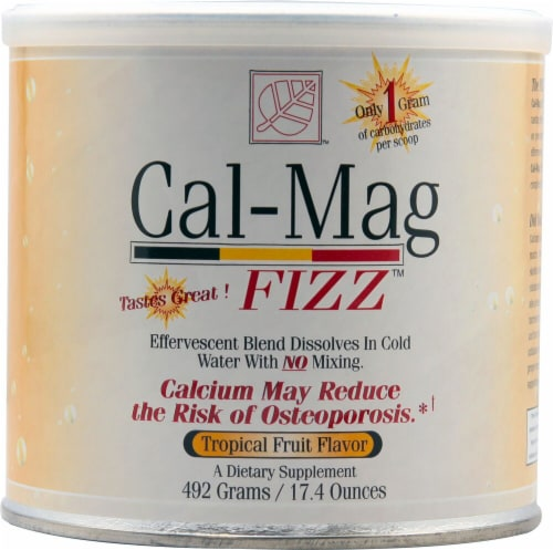 Baywood International  Cal-Mag Fizz   Tropical Fruit Perspective: front