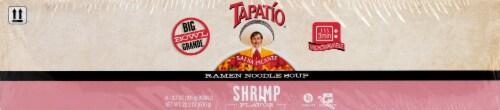 Tapatio Shrimp Ramen Noodle Soup Perspective: front