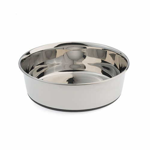Original No Slip Stainless Steel Bowl 5.5 Cups Perspective: front