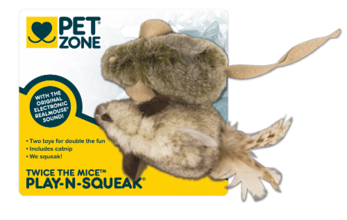 Pet Zone® Twice the Mice Perspective: front