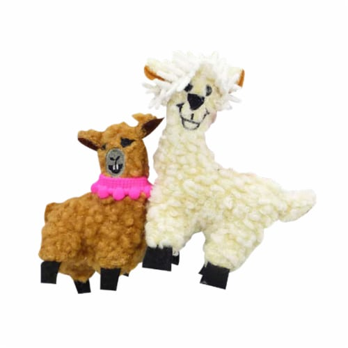 Pet Zone® Mama Llama Toy Perspective: front