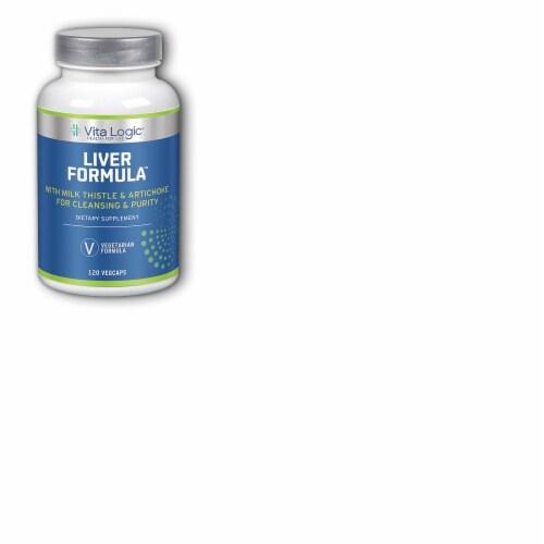 Vita Logic Liver Formula Dietary Supplement VegCaps Perspective: front