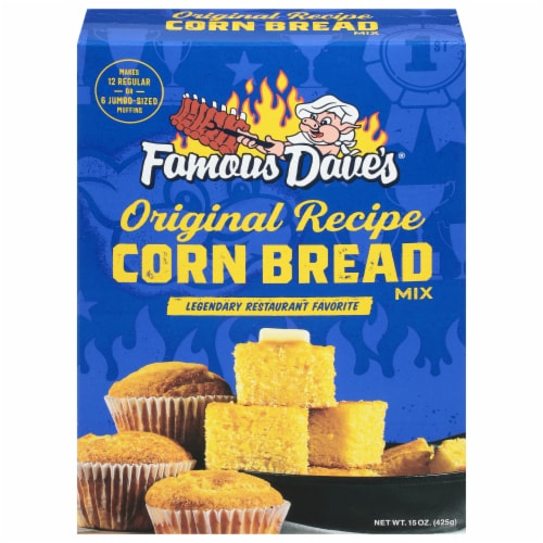 Famous Dave's Cornbread Mix Perspective: front