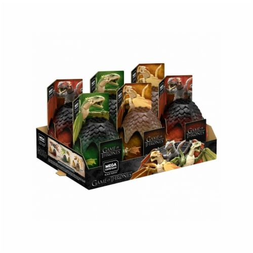Game of Thrones Dragon Eggs Plush Assortment - 6 Piece Perspective: front
