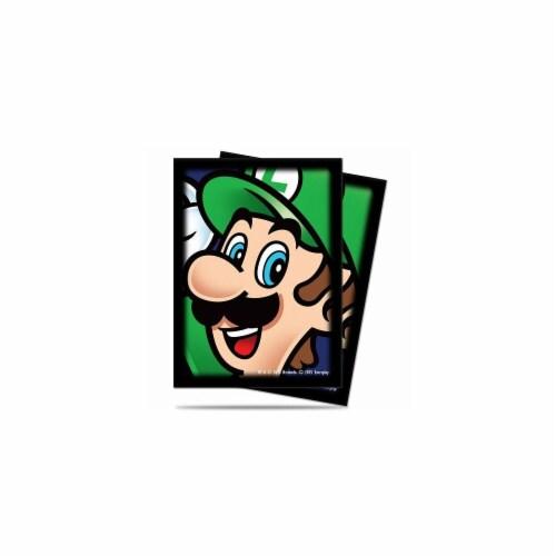 Luigi Super Mario Bros Deck Protector, Pack of 65 Perspective: front