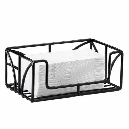 Iron Paper Towel Holder - 10 x 6 x 4 in. Perspective: front