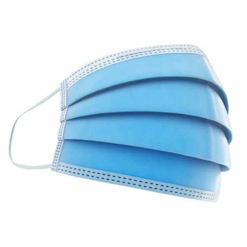 Disposable Face Masks - Box of 50 Perspective: front