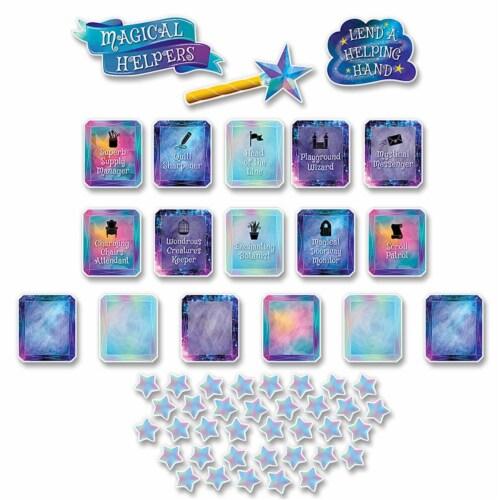 Mystical Magical Class Jobs Mini Bulletin Board Set Perspective: front