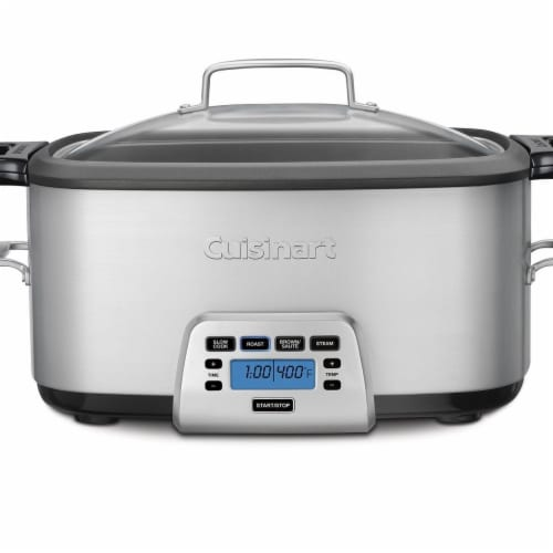 Conair-Cuisinart  7 qt, 4-in-1 Multicooker Cook Central - Black Perspective: front