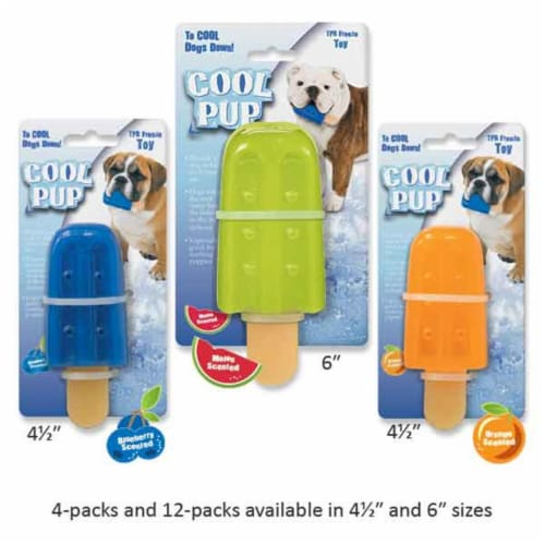 Mini Popsicle Toy, Blue Perspective: front