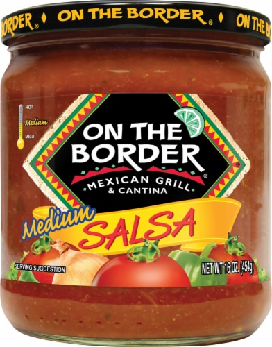 On the Border Medium Salsa Perspective: front