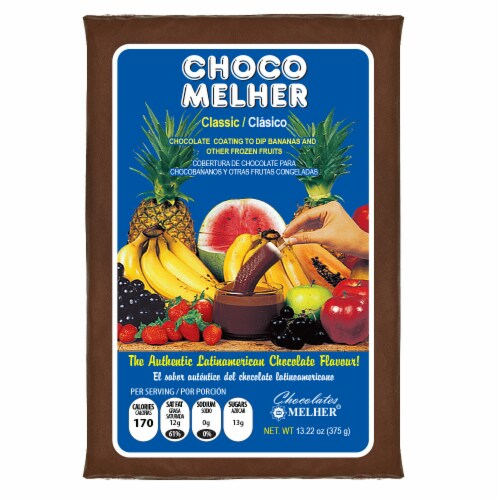 Choco Melher Classic Chocolate Coating Perspective: front