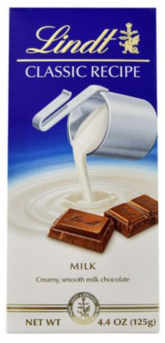 Lindt Classic Recipe Milk Chocolate Bar -- 4.4 oz - 2 pc Perspective: front