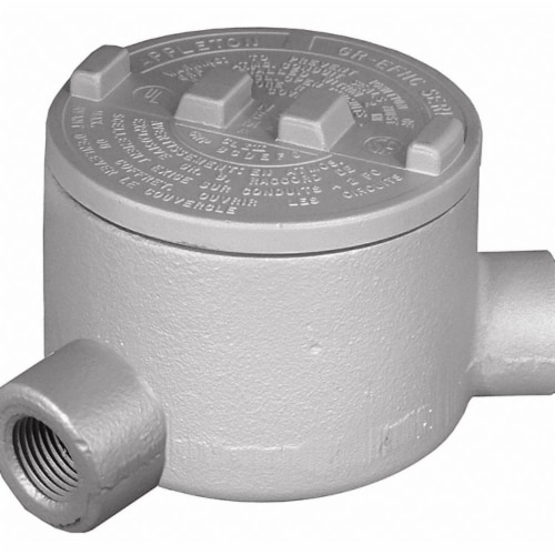 Appleton Electric Conduit Outlet Body,N,3/4 In.  GRN75-A Perspective: front