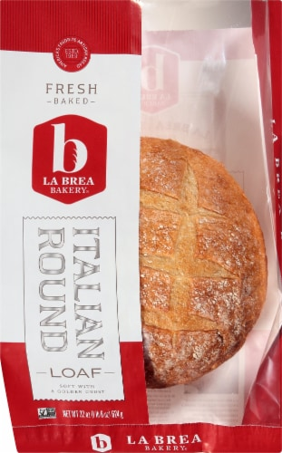 La Brea Bakery Italian Round Loaf Perspective: front
