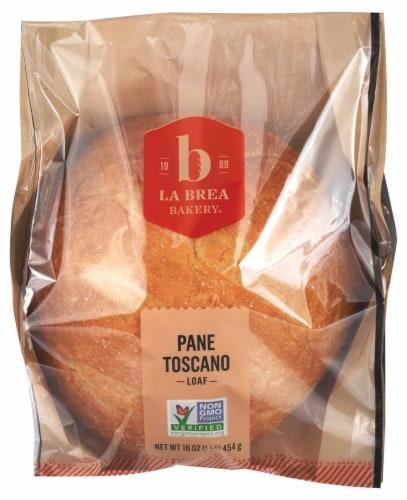 La Brea Sliced Pane Toscano Bread Perspective: front