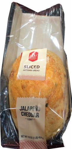 La Brea Sliced Jalapeno Cheddar Bread Perspective: front