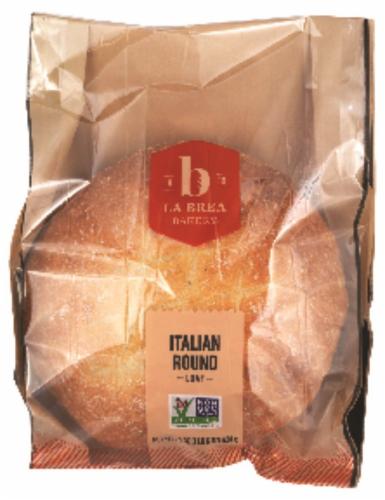La Brea Sliced Italian Round Bread Perspective: front