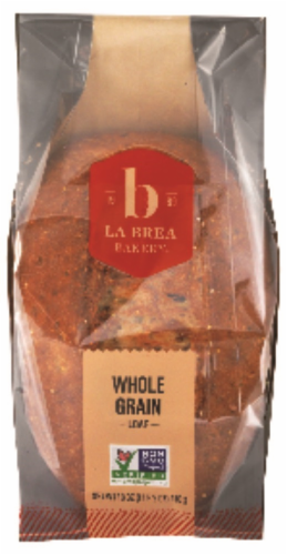 La Brea Whole Grain Sliced Bread Perspective: front