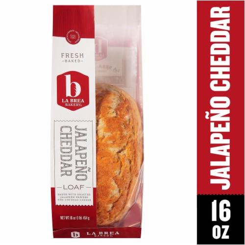 La Brea Jalapeno Cheddar Bread Perspective: front